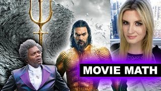 Aquaman highest DC Box Office of ALL TIME, Glass Second Weekend Drop