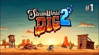 Twitch Livestream | SteamWorld Dig 2 Part 1 [Switch]