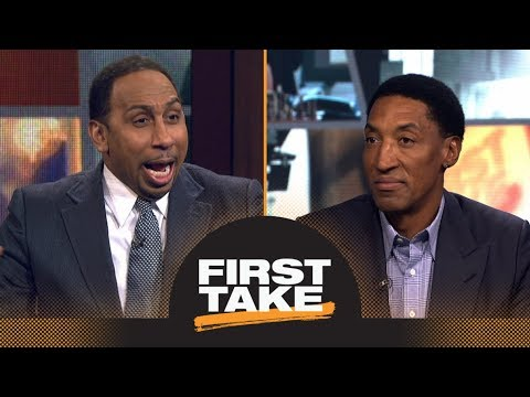 Scottie Pippen says LeBron James has surpassed Michael Jordan 'in many ways' | First Take | ESPN