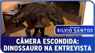Câmera Escondida: Dinossauro na Entrevista