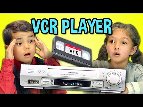 Thumbnail: KIDS REACT TO VCR/VHS