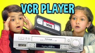 Video KIDS REACT TO VCR/VHS download MP3, 3GP, MP4, WEBM, AVI, FLV Desember 2017