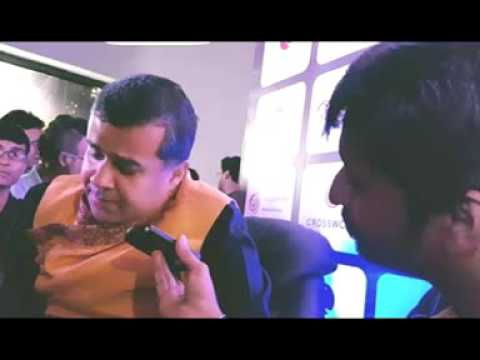 Chetan Bhagat with Rj Animesh live on 91.9 Friends FM Kolkata