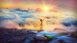 417Hz HAPPINESS VIBES   Better Mood   STOP Negative Self Talk   Positive Energy Meditation Music