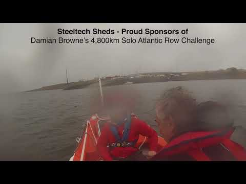 Damien Browne - 4,800km Solo Row across the Atlantic