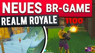 BETTER AS FORTNITE ?! - Free Battle Royale Game Realm Royale