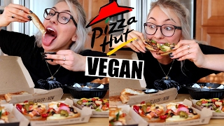 tasting vegan pizza hut usa shane dawson remake veganized