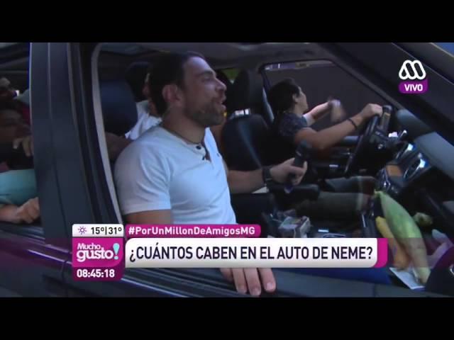 ¿Cuántas personas caben en el auto de José Antonio Neme? - Mucho Gusto