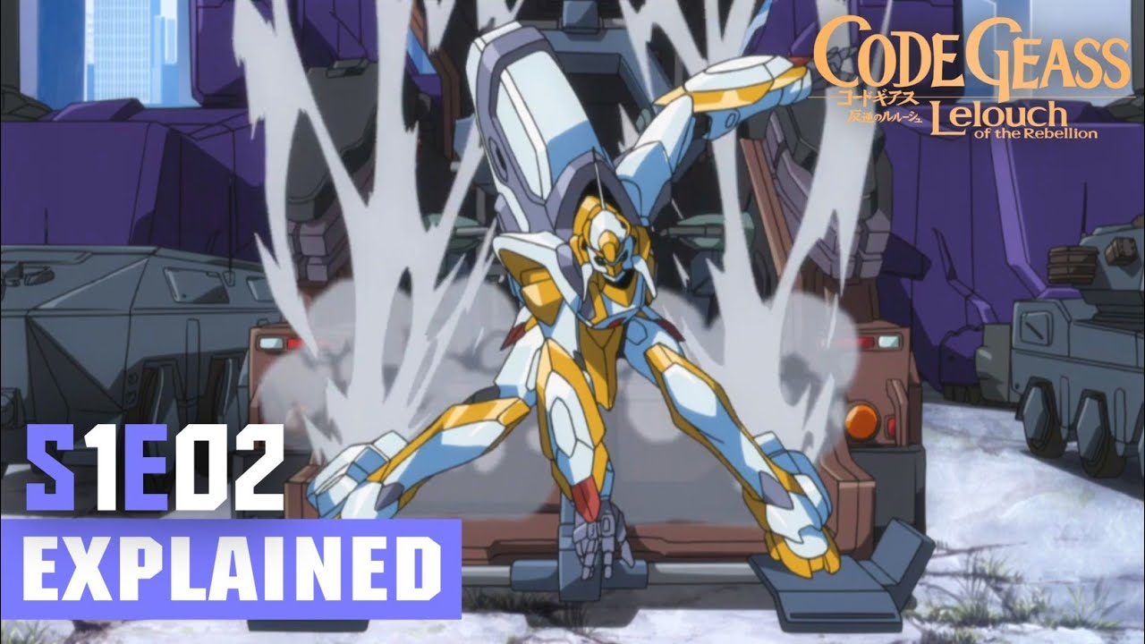 Download Code Geass Episode 2 [Hindi] Explained!!   Code Geass: Lelouch of the Rebellion R1