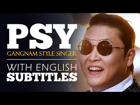 ENGLISH SPEECH | PSY: Be Funny, Be You (English Subtitles)
