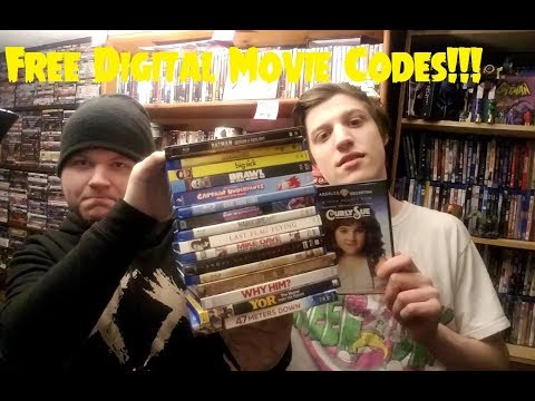 DVD/Blu-ray Collection Update #31 + Free Digital Movies! (w/