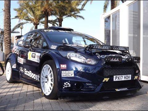 2017 Ford Fiesta R5 Evo 2 Rally Car - Start, rev and take