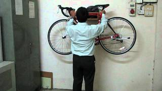 Bicycle Indoor Wall Rack By Fnu Concepts