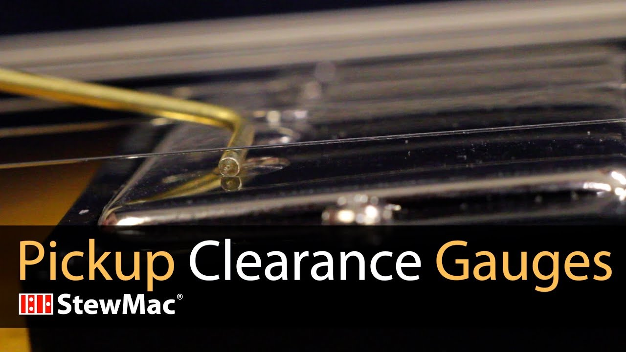 medium resolution of set your perfect pickup height with pickup clearance gauges
