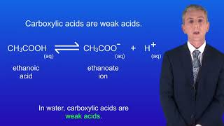 """GCSE Science Revision Chemistry """"Carboxylic Acids"""" (Triple)"""