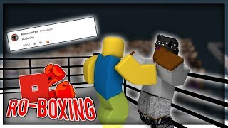 Giving Noobs Hands!! | Ro-Boxing! - Roblox