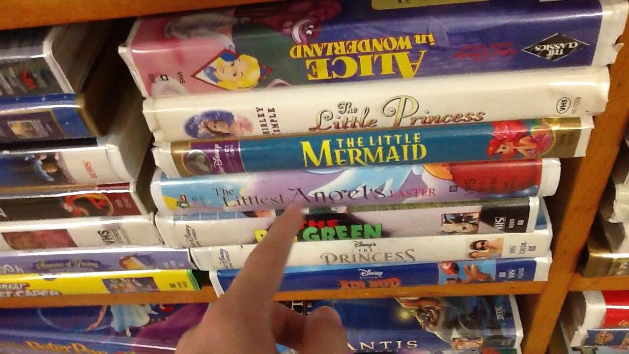 A VHS Collection At St. Vincent De Paul\'s Thrift Store