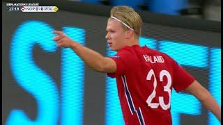 Norveška - Rumunija 4:0   Het-trik Erlinga Holanda   SPORT KLUB FUDBAL