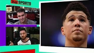NBA's Tyler Ulis In Crazy 2017 Elevator Beatdown with Devin Booker | TMZ Sports
