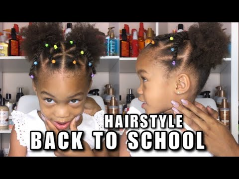 Rubberband Method Hairstyle for Kids | Back to School Styles! thumbnail