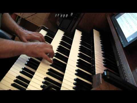 CIMAROSA Domenico : Sonate en Ré min Hauptwerk orgue St Maximin