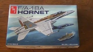 AMT F/A-18  Hornet  1/48 Scale (Round2Models) Review
