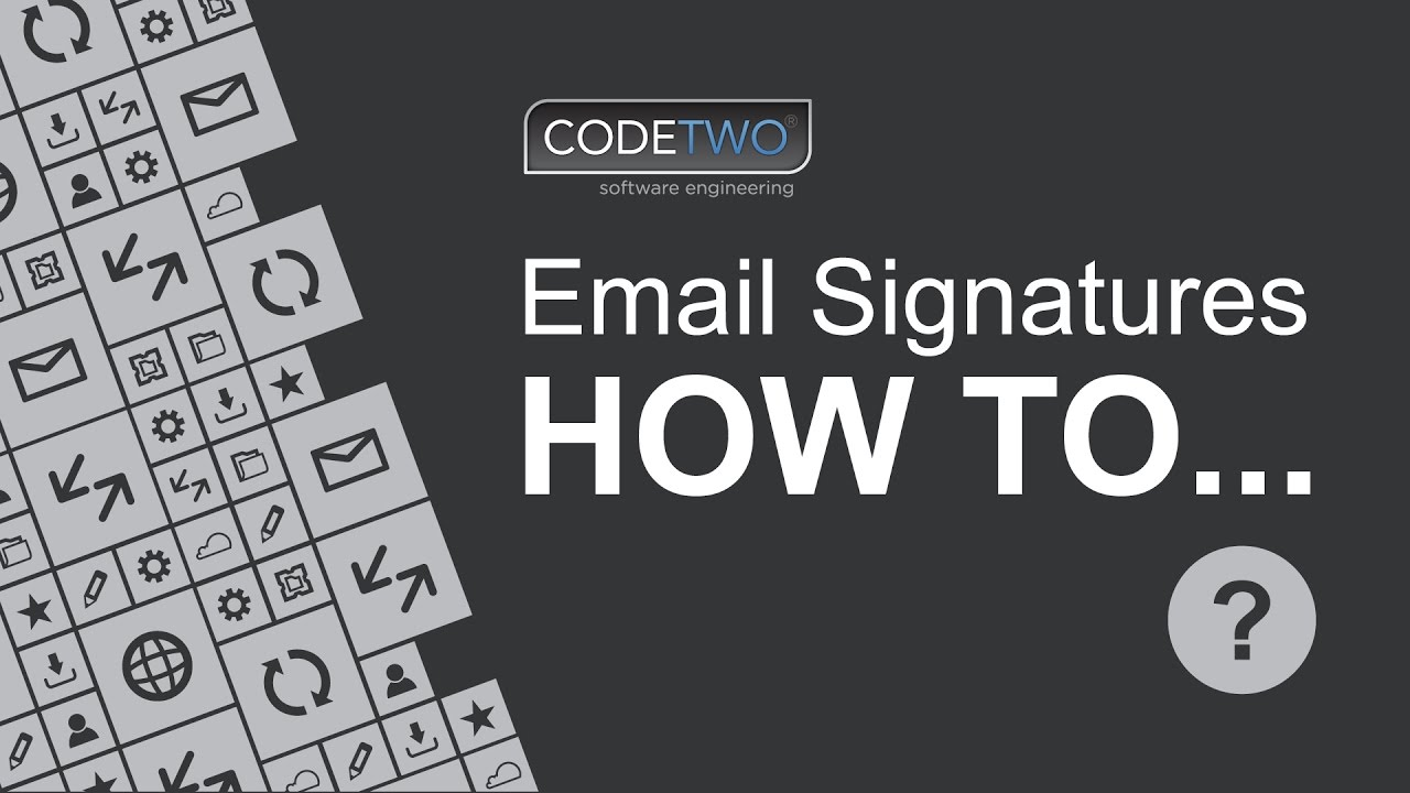 How to add an email signature to all users in Exchange 2016 - YouTube