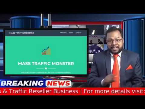 How To Use Mass Traffic Monster Software Step by Step Video Tutorial thumbnail