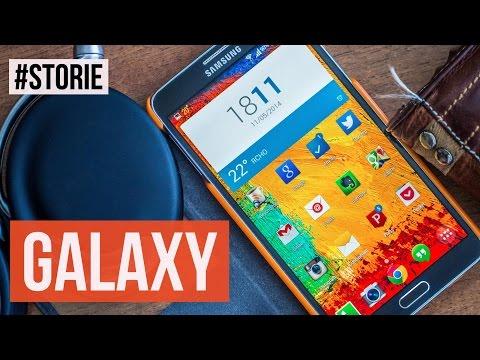 Samsung Galaxy: 7 anni di Android | HDblog #storie