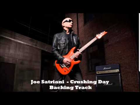 Joe Satriani  Crushing Day Backing Track