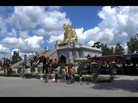 ไปไหว้หลวงปู่ทิม องค์ใหญ่ที่สุดในประเทศไทย ที่วัดละหารไร่ ระยอง