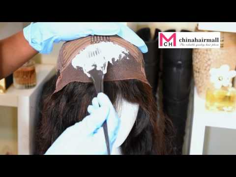 How to: Bleach Knots on Lace Front Wigs & Advise on Bleach Knots