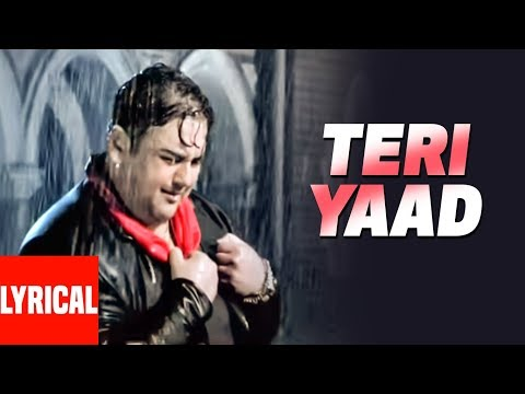 Adnan Sami TERI YAAD Lyrical   Kisi Din  Super Hit Romantic Song