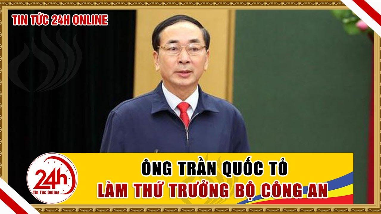 Bí thư Tỉnh uỷ Thái Nguyên Trần Quốc Tỏ làm Thứ trưởng Bộ Công An | Tin tức 24h mới nhất hôm nay
