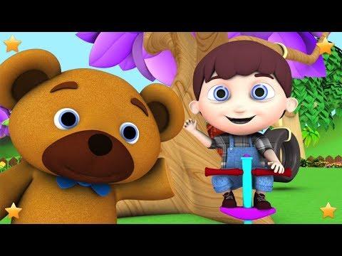 Jack Be Nimble   Kindergarten Nursery Rhymes & Songs for Kids   Little Treehouse S03E120