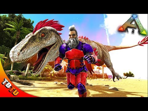 🚩 ARK ALPHA DINO HUNTING AND DEEP SEA LOOT CRATES! Vanilla Ark Survival Evolved E34 [Live Stream]