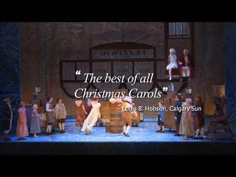 Theatre Calgary's A Christmas Carol 2015 (trailer) - YouTube