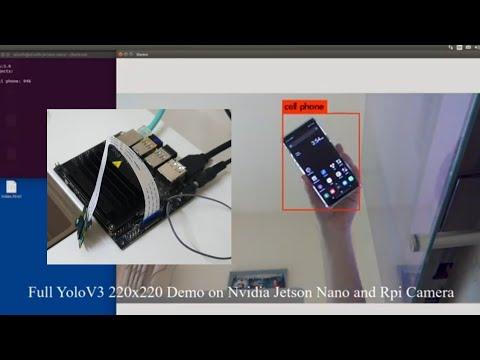 Running Yolo on Jetson Nano and Raspberry Pi Camera