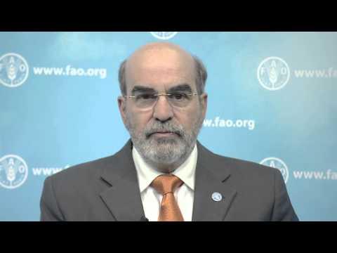 FAO's José Graziano da Silva congratulates UNIDO on its 50th anniversary