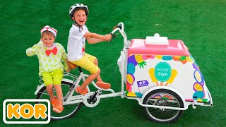 블라드와 니키가 아이스크림 가게와 놀다 | 아이들을위한 컬렉션 비디오