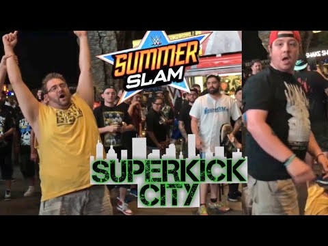 SUMMERSLAM SUPERKICK CITY! TUBBY EMU VS GRIM! CORVUS AND TOMMY CRASH THE PARTY!
