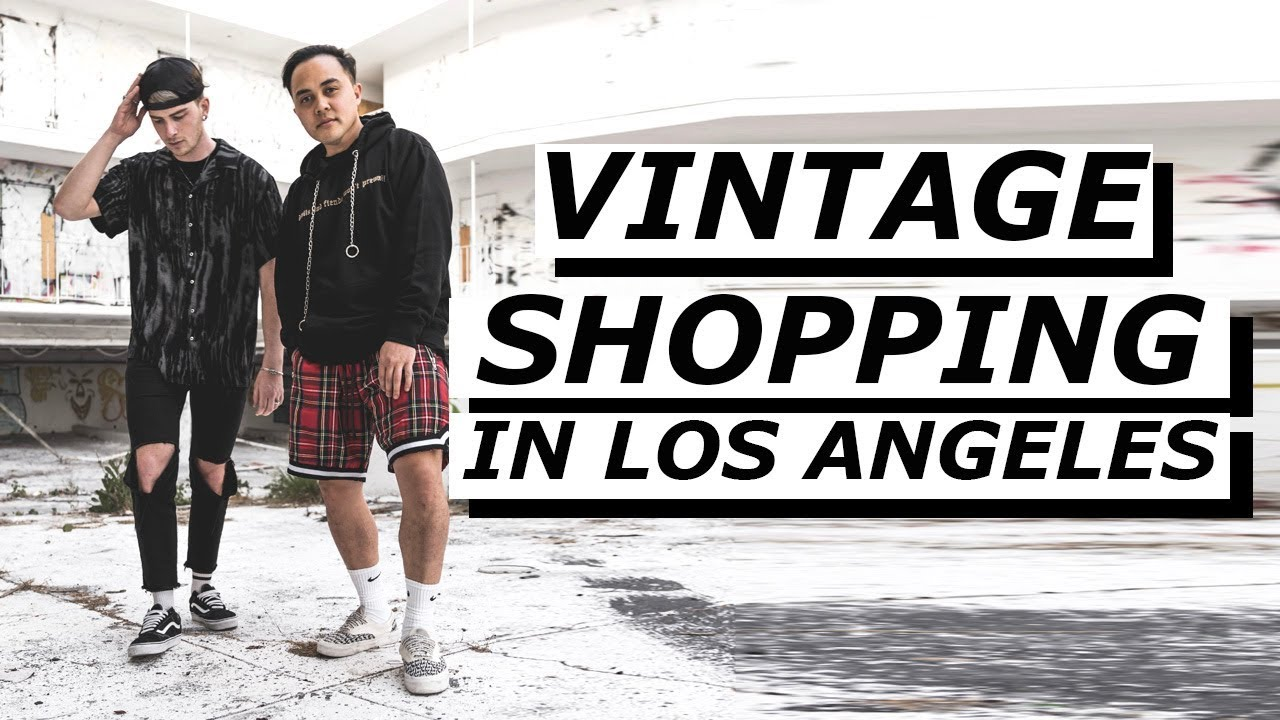 abd0741ccb VINTAGE SHOPPING IN LOS ANGELES