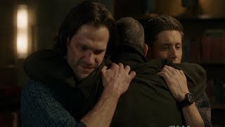 Supernatural 300 Episode - John's big goodbye and tells to the boys that he is so proud of them!
