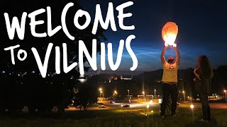 Welcome To Vilnius City