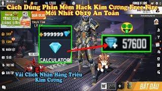 Chia Sẽ Phần Mềm H.a.c.k Kim Cương Free Fire Mới Nhất Ob19 Khi Được Hacker Hướng Dẫn, Làm Đơn Giản.