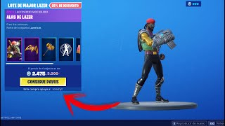 PACK MAJOR LAZER - AWESOME LAZER HIGH STORE FORTNITE 23 AUGUST FORTNITE x MAJOR LAZER