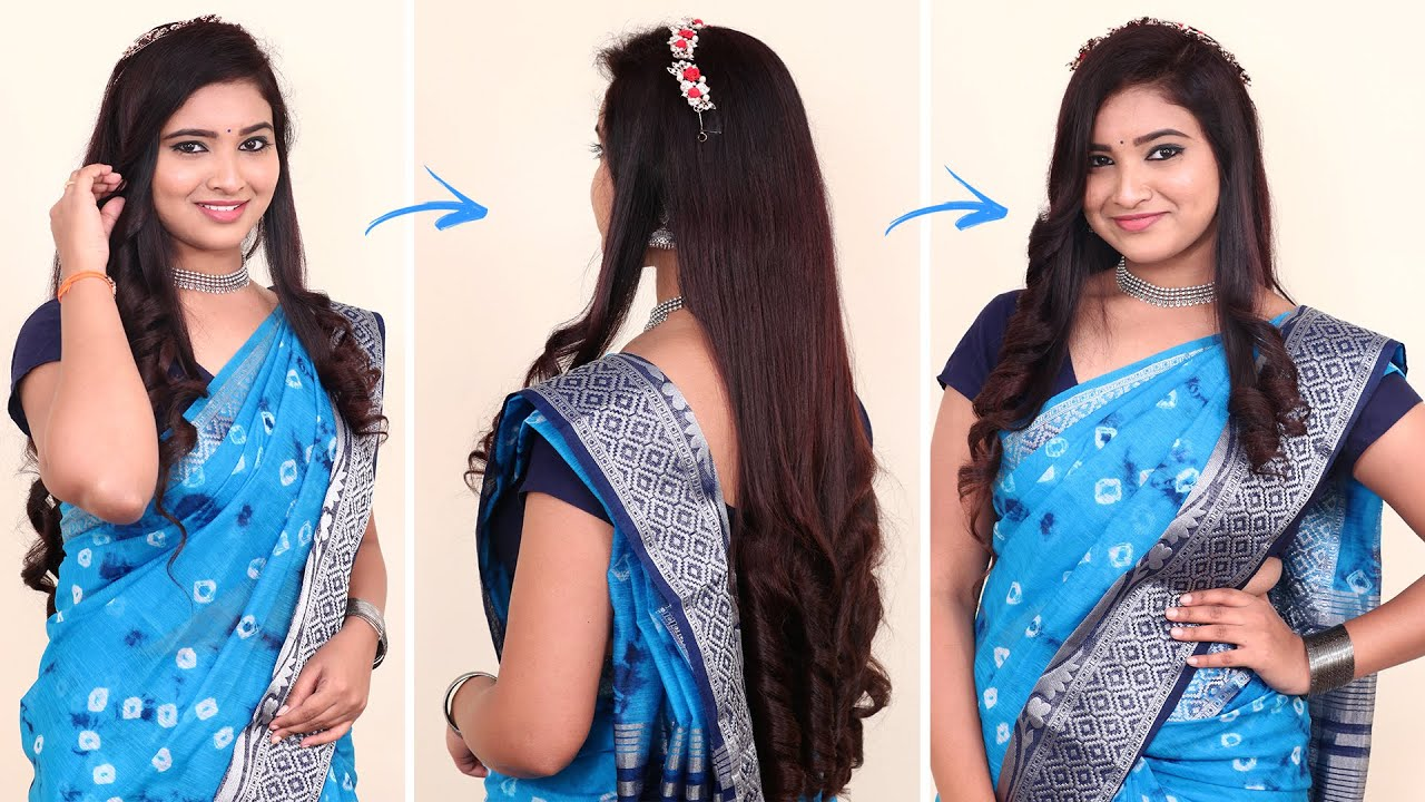 Easy Hairstyle | Hairstyles for Girls | Open Hairstyles | How to Style Long Hair @PlayEven Fashions