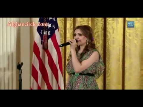 Mozhdah White House Performance  ...Dukhtare Afghan...