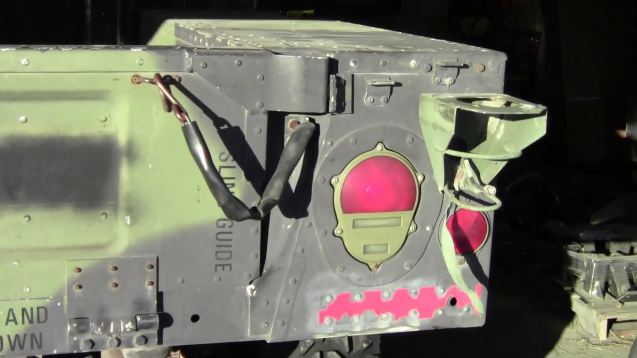 Military Civilian Trailer Tail Lights Federal Military Parts HUMVEE on