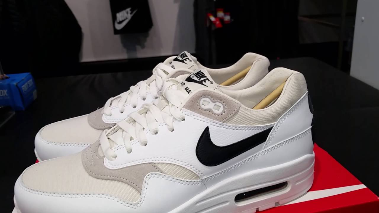 timeless design af18b 0e95a Nike Air Max 1 prm 87 sneaker review 2016 - YouTube